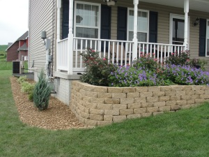 We provide grass cutting, mulching, weeding, stone application, hedge trimming, spring and fall clean up, seeding, and planting