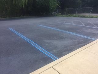 Handicap Parking area